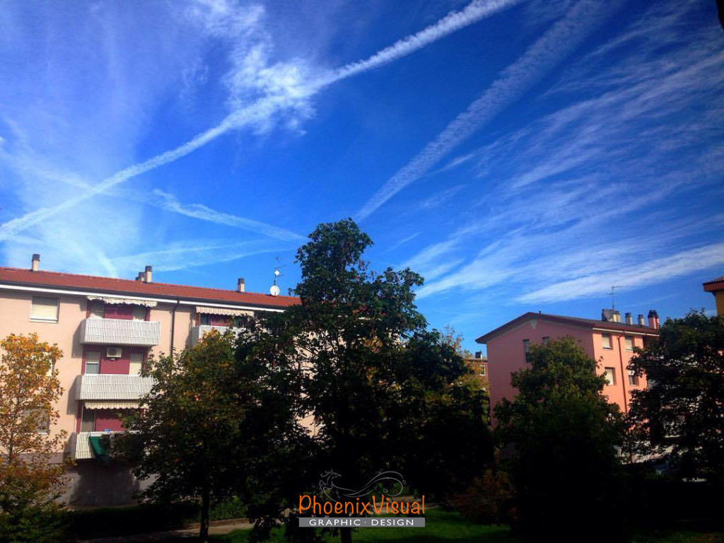 Cielo azzurro - Van Gogh PhoenixVisual Graphic Design Vicenza