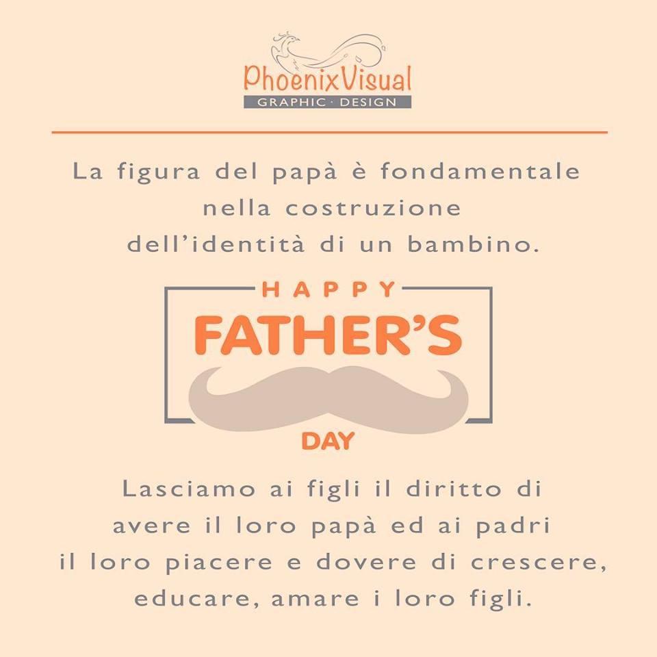 Festa papà 18/03/2018 PhoenixVisual Graphic Design Vicenza